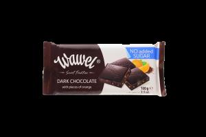 Шоколад черный Wawel с желейн шариками без сахара