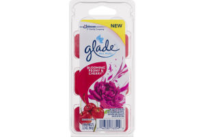 Glade Wax Melts Blooming Peony & Cherry - 6 CT