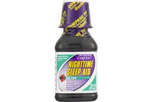 CareOne Nighttime Sleep Aid Berry