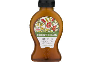 Dutch Gold Pure Honey Wildflower Blossoms
