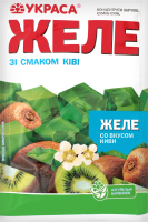 Желе со вкусом киви Украса м/у 90г