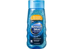 Selsun Blue Deep Cleansing Micro-Bead Scrub Dandruff Shampoo