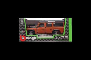 Автомодель Bburago LAND ROVER DEFENDER 110, 1:32 (в ассорт.)