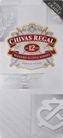 Віскі 4.5л 40% купажоване 12 Chivas Regal пл