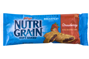 Kellogg's Nutri Grain Soft Baked Breakfast Bars Strawberry