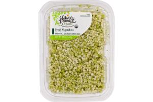 Nature's Promise Organic Fresh Vegetables Broccoli & Cauliflower Rice