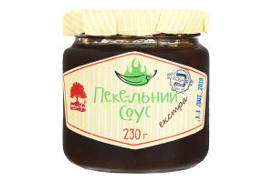 Соус зелений екстра Пекельний Інша їжа с/б 230г