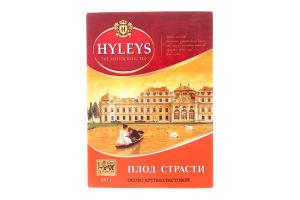 Чай черный байховый цейлонский крупнолистовой Passion Fruit Hyleys к/у 100г