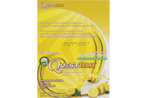 QuestBar Protein Bar Lemon Cream Pie - 12 CT