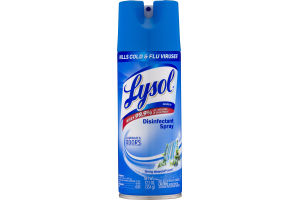 Lysol Disinfectant Spray Spring Waterfall Scent