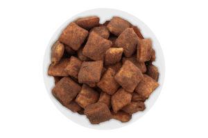 Завтрак сухой подушечки неглазированные со вкусом ирисо-сливочным Вкусная забава Золоте Зерно кг