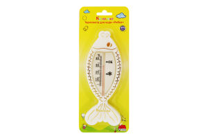 Термометр для дітей від народження для води №7086 Рибка Курносики 1шт