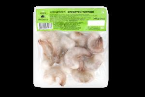 Креветки Foods Delivery тигрові морожені в/у 300г х6