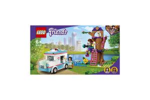 Конструктор для детей от 6лет №41445 Скорая ветклиники Friends Lego 1шт