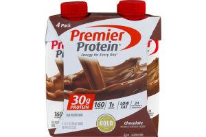 Premier Protein High Protein Shake Chocolate - 4 CT