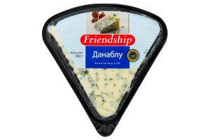 Сир 50% класичний Данаблу Friendship п/у 100г