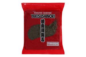 Водоросли сушеные Yaki Sushi Nori Takaokaya м/у 250г