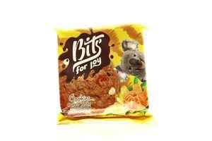 Печиво Bits for joy з білим шокол. та мандарин.цукат.50г х36