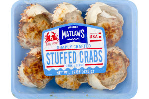 Matlaw's Stuffed Crabs - 6 CT