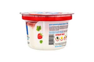 Десерт сирковий 5% Полуниця Точно молочно ст 180г