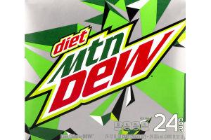 Diet Mountain Dew - 24 CT