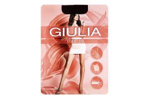Колготки жіночі Giulia Like 20den 4-L сappuccino