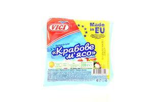 Крабовое мясо замороженное Vici в/у 200г