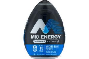 Mio Energy Liquid Water Enhancer Wicked Blue Citrus