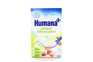 Каша Humana молочна рисова з полун. йогуртом 250г х5