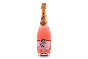 Вино ігристе 0.75л 10-13.5% рожеве солодке Salute Asti Tairovo пл
