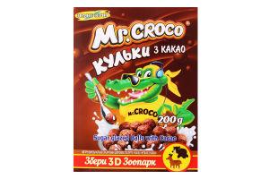 Сніданки сухі Кульки з какао Mr. Croco к/у 200г