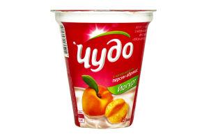 Йогурт 2.5% Персик-абрикос Чудо ст 300г