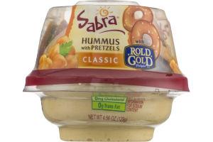 Sabra Hummus with Pretzels Classic