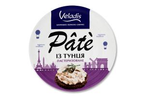 Пате пастеризоване з тунця Pate Veladis з/б 100г