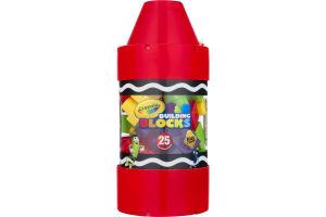 Crayola Building Blocks - 25 PC