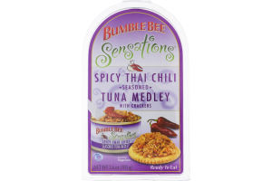 Bumble Bee Sensations Spicy Thai Chili Tuna Medley with Crackers