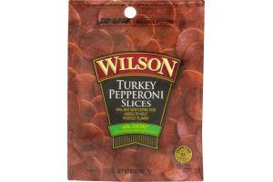 Wilson Pepperoni Slices Turkey