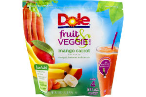 Dole Fruit & Veggie Blends Mango Carrot