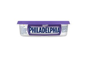 Сир 22% м'який з молочним шоколадом Milka Philadelphia п/у 175г