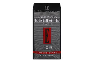 Кава натуральна середньообсмажена в зернах Noir Egoiste cafe м/у 250г