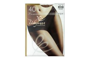 Колготки Інтуїція Premium Bikini Top 40den