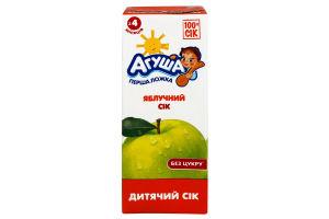 Сік яблуко освітлений Агуша т/п 200мл