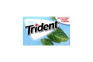 Резинка жевательная Trident мята