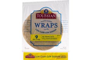 Toufayan Bakeries Wraps Low Carb-Low Sodium - 5 CT