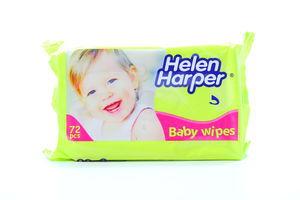 Салфетки детские влажные Helen Harper 72шт