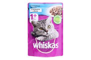 Корм для дорослих котів з тунцем в желе Whiskas д/п 100г