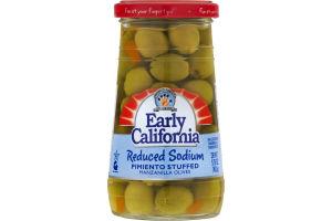 Musco Family Early California Reduced Sodium Pimento Stuffed Manzanilla Olives