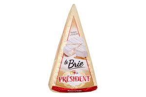 Сир 60% Brie President м/у 200г