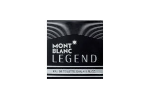 Mont Blanc Legend чол.т/вода 30мл