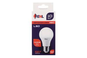 Лампа світлодіодна LED 4100K 10W E27 A60 Enl 1шт